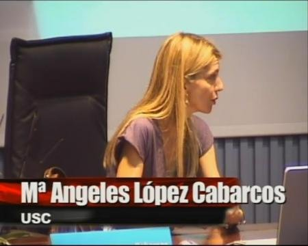 María Angeles López Cabarcos. - I Foro sobre Empleo Público
